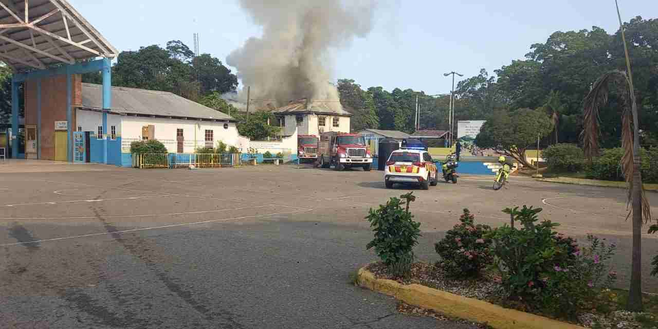 Fire At Hydel High Main Office