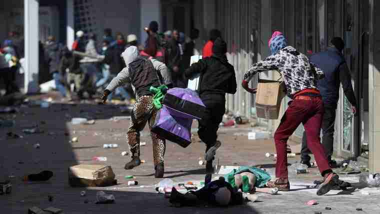 72 Dead From South Africa Protests Following the Jailing of Jacob Zuma