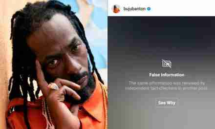 Instagram Calls Out Buju Banton For Spreading False Information About Covid-19 Pandemic