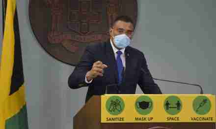 PM Says Gov't Will Develop Appropriate Vaccine Certificate System for Jamaican Travelers