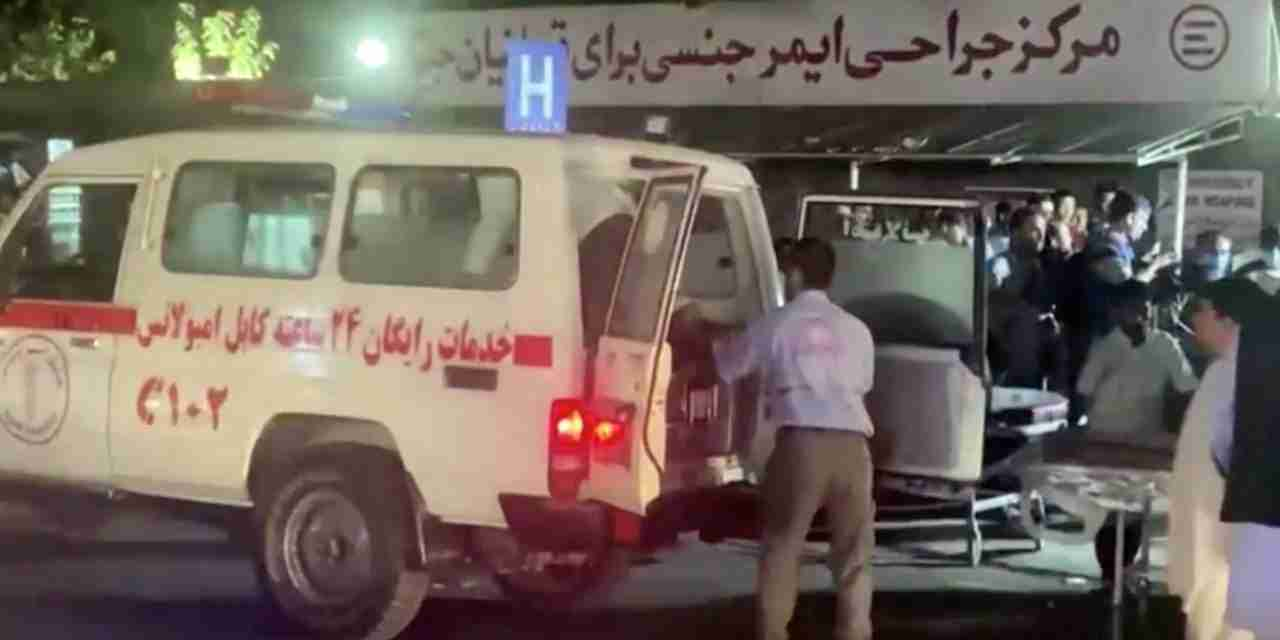 60 Dead, 140 Injured from Two Bomb Attacks at Kabul Airport in Afghanistan