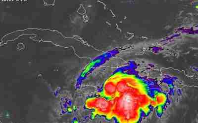 Tropical Storm Warning Issued For Jamaica As Grace Moves Away From Haiti and Heads Towards The Island
