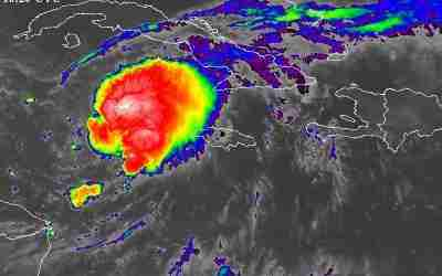 Tropical Storm Warning Issued for Jamaica Has Been Discontinued