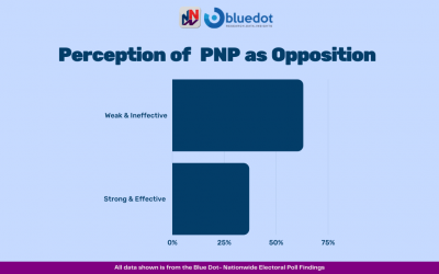 NNN/Bluedot Poll: Significant Majority of Jamaicans Believe the PNP Has Been a Weak and Ineffective Opposition