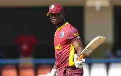 Evin Lewis Remains Only West indian in ICC T20 Batting Rankings