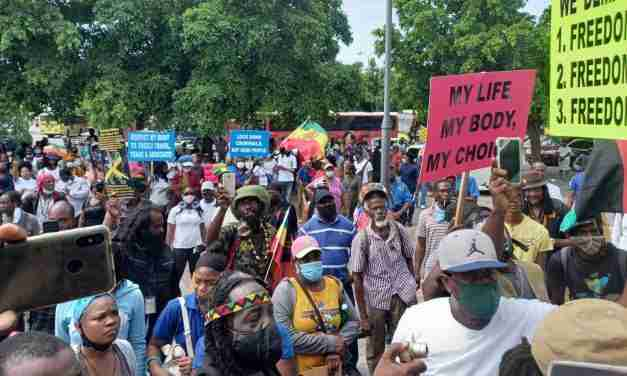MAJ Boss Says UIC March & Protest Could Lead to Spike in Covid Cases