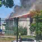 Fire Brigade Responds to Fire at Edna Manley School of the Visual & Performing Arts