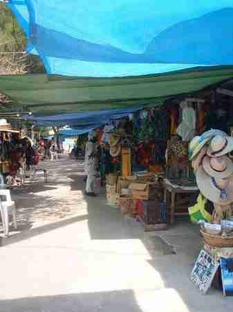 Mixed Reaction Among Craft Vendors Following the Arrival of Carnival Cruise Ship