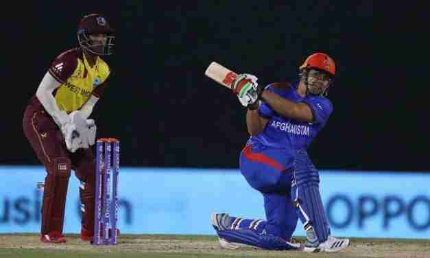 Afghanistan Beat the WEst Indies by 56 Runs in Final T20 World Cup Warm Up