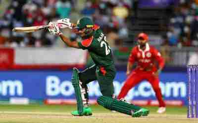 Bangladesh Thrashes Papua New Guinea to Advance to Super 12s at T20 World Cup