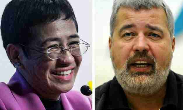 Nobel Peace Prize Awarded to Filipino and Russian Journalists