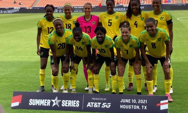 Reggae Girlz Beat Costa Rica in Practice Match