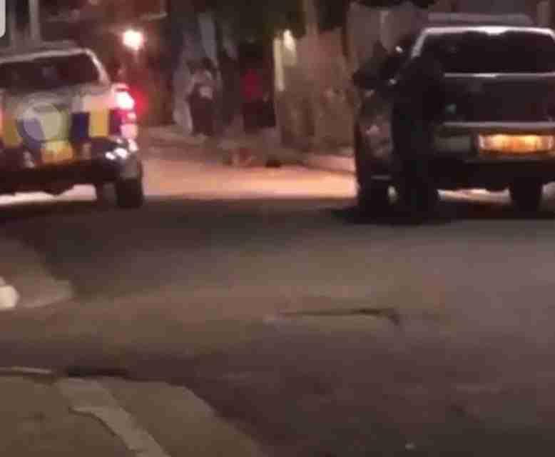 Central Kingston Police Processing Murder Scene in Southside