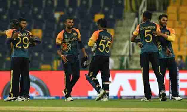 Sri Lanka Advances to Super 12s Stage of T20 World Cup