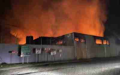 Prelim. Estimate: Facey Warehouse Fire Causes Damage To The Tune of Approximately $1billion