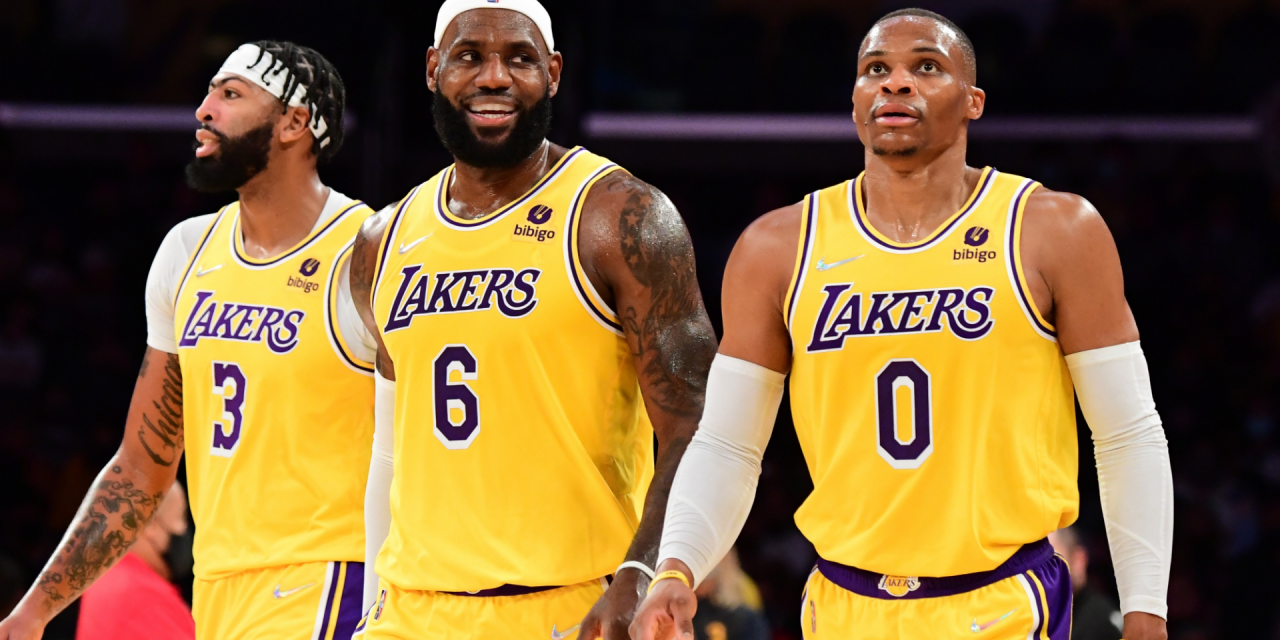 Lakers Big Three Lose in Debut Game Against the Warriors